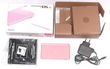Original Nintendo DS Lite Konsole Pink Rosa * KOMPLETT in OVP + Ladekabel