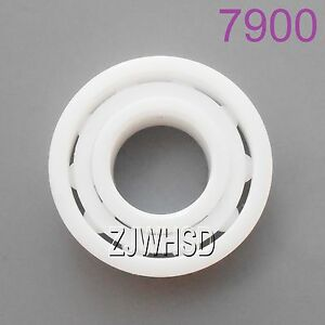 6900 Full Ceramic Bearing  ZrO2 Ball Bearing 10x 22 x 6mm Zirconia Oxide