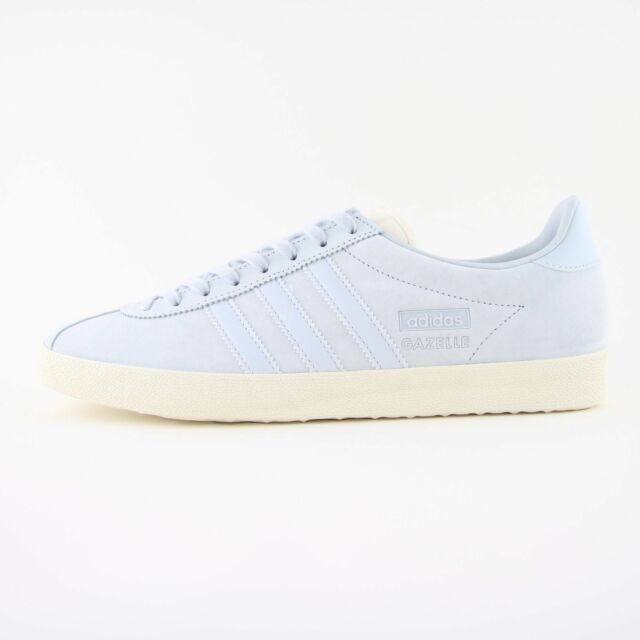 5a537eaa47ae Mens adidas Originals Gazelle OG Blue Leather Suede Trainers UK 8 ...