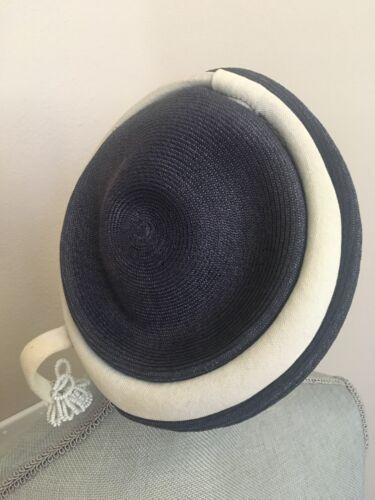 Vtg Womens Hat Dressy Beret Pillbox 1940'S 1930's