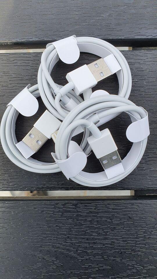 Datakabel, t. iPhone, Originalt Lightningkabel til