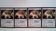 4X Sphere of Safety - RTR - * Signed & Altered English, SEE PICTURES * MTG CARD