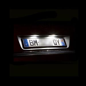 2-ampoules-a-LED-eclairage-blanc-feux-de-plaque-pour-Opel-Insignia