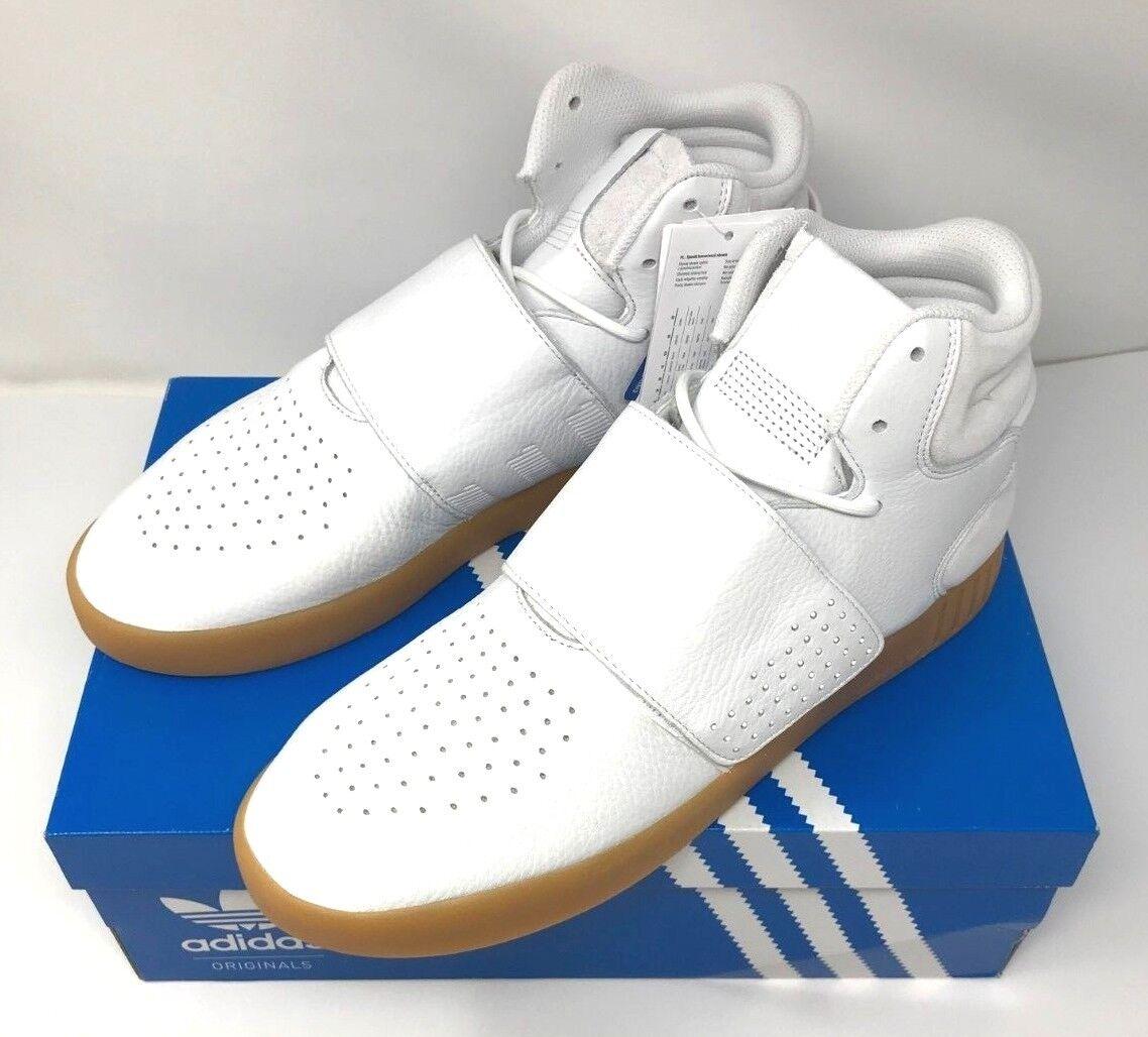 Adidas tubuläre invader - größe größe größe us - 10,5 ftwwht / gum1 / cschwarz neue mit box abcbe8