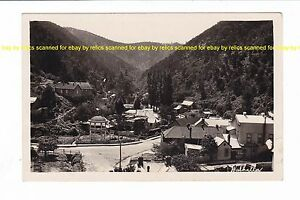 Details about WALHALLA GOLD MINING TOWN Victoria VINTAGE REAL PHOTO view  AUSTRALIA