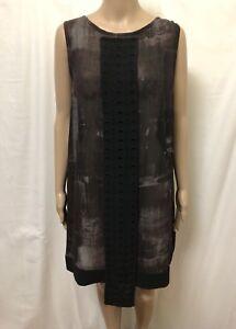 Nicola-Waite-Dress-Women-Size-4-or-16-Great-Cond-Semi-Sheer-Style-Sleeveless