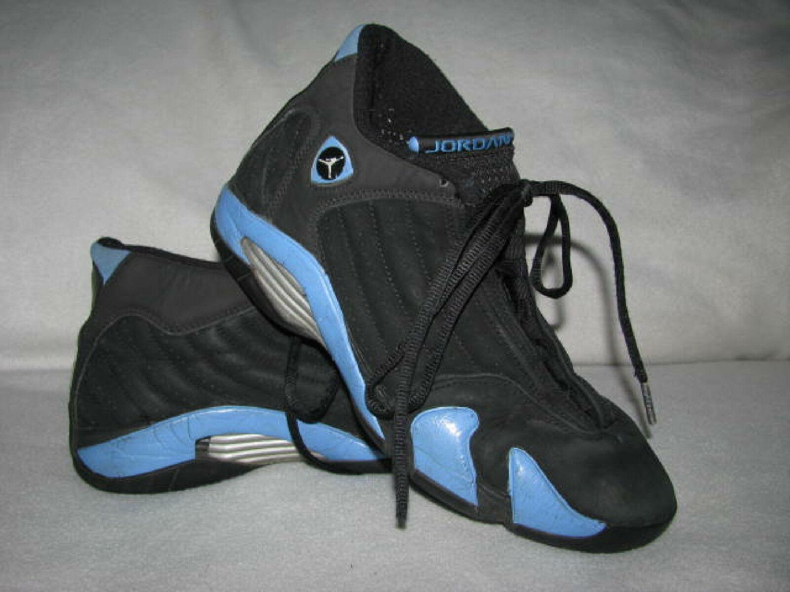 Cheap and beautiful fashion NIKE AirJORDAN 14 XIV Retro Sneakers Sz 7.5 Black University Blue 311832-041