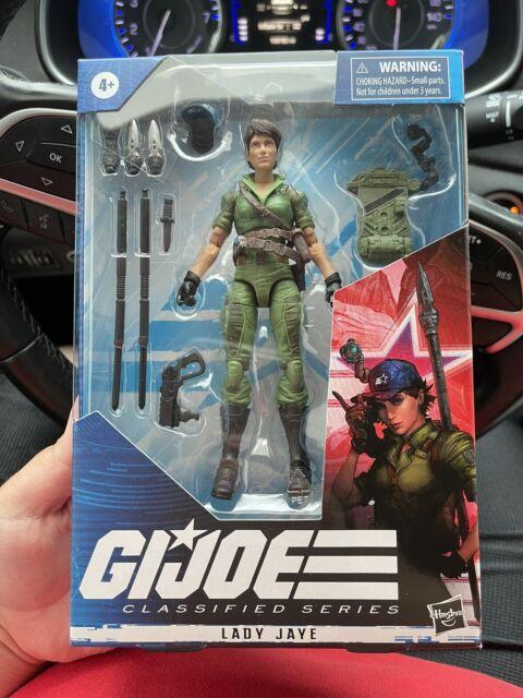 "New Hasbro G.I. Joe Classified Series LADY JAYE 6"" Action Figure - IN STOCK"