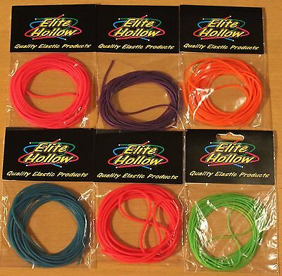 Elite Hollow Pole Elastic ~Top Quality Amber Core Elastic Best Price on