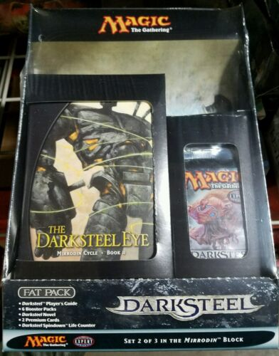 MTG Darksteel Magic The Gathering Sealed Fat Pack Booster packs
