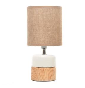 Jour Lin Abat Lampe Table Céramique Sur De Cm E14 Pied Blanche 29 Chevet Détails Déco H l1KcF3JT