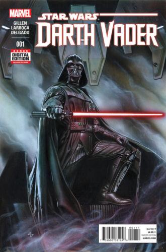 NEW 2015 MARVEL COMICS STAR WARS DARTH VADER #1 1ST PRINTING GILLEN LARROCA