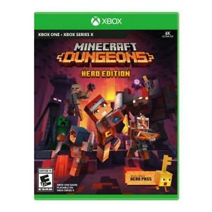 Minecraft Dungeons Hero Edition Xbox One - For Xbox One And Xbox Series X