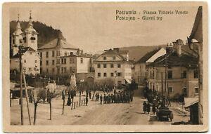 SLOVENIA-SLOVENIJA-POSTUMIA-POSTOJNA-PIAZZA-VITTORIO-VENETO-GLAVNI-TRG-m