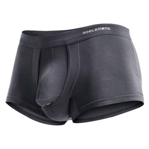 Men/'s Breathe Underwear Bullet Separation Scrotum Physiological Underpants HOT