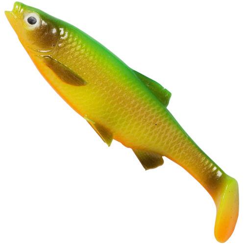 Savage Gear LB Roach Paddle Tail Gummifisch zum Raubfischangeln Hechtköder