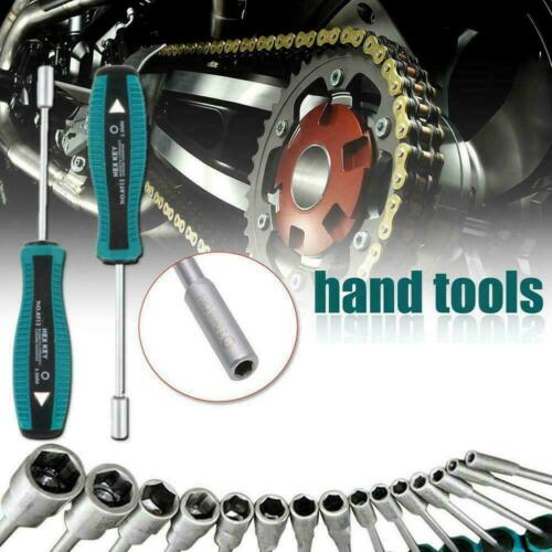 3mm-8mm Metal Socket Driver Wrench Screwdriver Hex Nutdriver Key werkze Han Z0J0