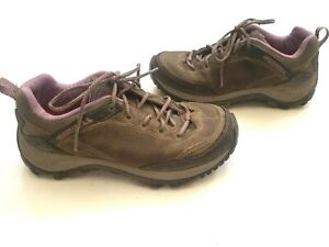 7d30d6cb5f1 Details about Merrell women's size 7 Salida Mid Waterproof Hiking Boot in  Brindle Great (C02)