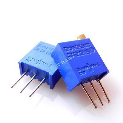 2PCS Ohm 5K 3296W-502 Trim Pot Trimmer Potentiometer Trimmpotentiometer