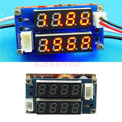 CC/CV 5A Adjustable Power Step-down Charge Module LED Driver Voltmeter Ammeter