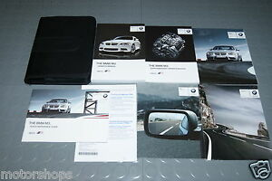 2012 bmw m3 coupe convertible owners manual set ebay rh ebay com 2012 bmw m3 service manual 2013 bmw m3 owners manual