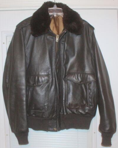 Rare 1980s SCHOTT 684SML LOT: 0077 Flight Jacket B