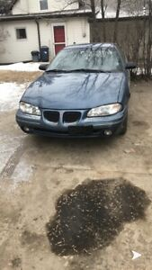 1997 Pontiac Grand Am granny owned Mint condition need Laywer $