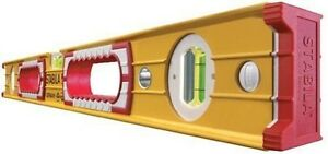NEW-STABILA-4ft-120cm-48-034-Double-Plumb-Builders-Box-Spirit-Level-Type-196-2-120