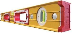 NEW-STABILA-4ft-120cm-48-034-Double-Plumb-Builders-Box-Spirit-Level-Type-196-2-120