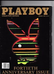 Back-Issue-January-1994-Playboy-Magazine-40th-Anniversary-Issue-FINE