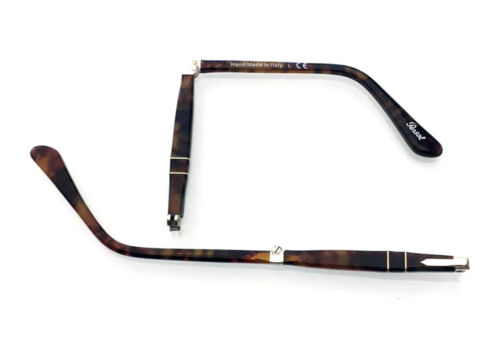 ASTE RICAMBIO PERSOL 9714 108 CAFFE SIDE ARMS FOLDING TEMPLES SPARE PARTS