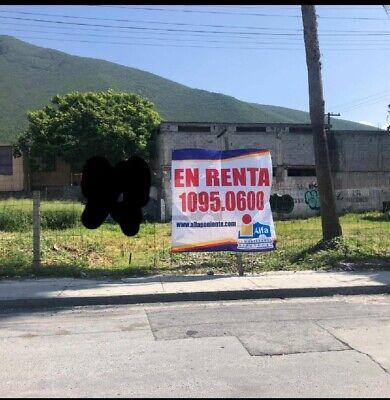 TERRENO EN RENTA ubicado en Lomas de Tolteca, Guadalupe, N.L. sobre la Avenida Eloy Cavazos.
