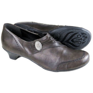 RRP-82-LADIES-WOMENS-MID-HEEL-BLOCK-SLIP-ON-COURT-PUMPS-COMFY-OFFICE-SHOES-SIZE