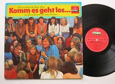 LP Georg Bossert / Eva Rechlin - Komm Es Geht Los - POLY - Farbenlied WDR 1974
