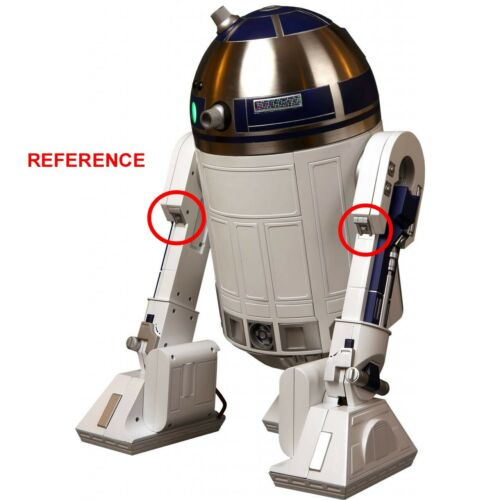 R2-D2 Legs Detail Set TT x 4-100/% Machined Aluminium PROP Star Wars