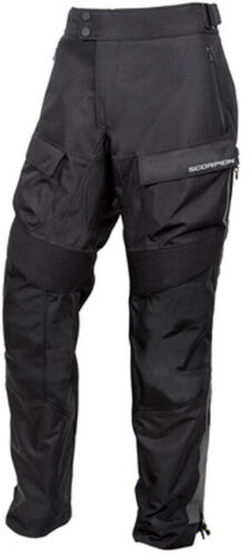 Seattle Water Proof Riding Over-Pants Black Large Scorpion 2803-5