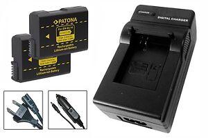 2 x Akku + Ladegerät für Nikon D3300, D5100, D5200, D5300, D5500 - EN-EL14