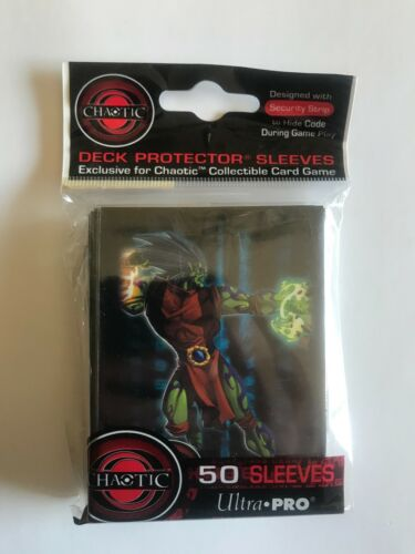 Chaotic TCG  Overworld Deck Protector Ultra Pro Sleeves New Factory Sealed