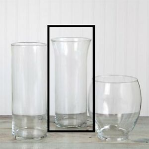 New 12pcs Cylinder Vases With Flared Rims 9 Quot