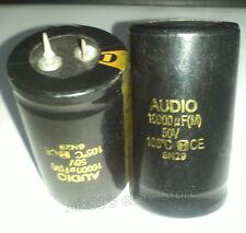 2pcs 10000uF 50V Aluminum Electrolytic Filter Capacitor Audio Power filter