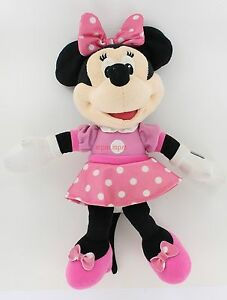 Disney Large Minnie Mouse Plush Pink Dress 24 Ebay