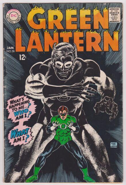 Green Lantern #58, Fine Condition'