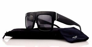 POLARIZED Genuine CELINE ZZ-Top Black Kim Kardashian Sunglasses CL ... 3bf3e426b091
