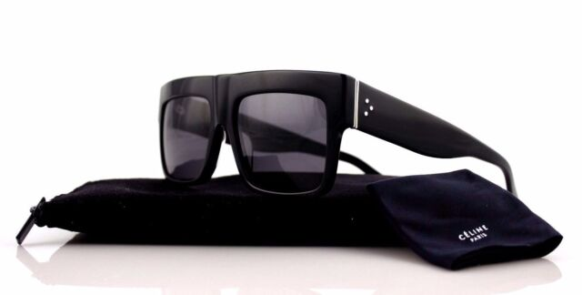 146b172d15 POLARIZED Genuine CELINE ZZ-Top Black Kim Kardashian Sunglasses CL 41756  807 3H