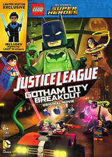 LEGO Super Heroes: Justice League Gotham City Breakout (DVD 2016) VERY GOOD