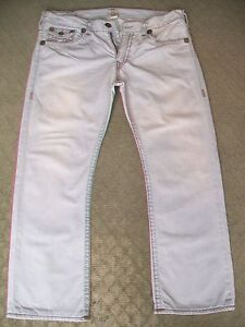 MENS-TRUE-RELIGION-039-RICKY-SUPER-T-039-JEANS-SIZE-40