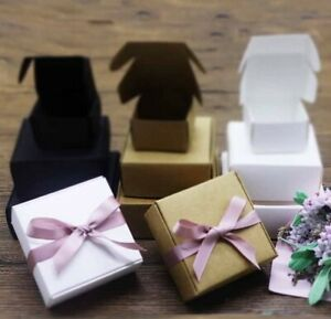10-Pcs-Gift-Boxes-Jewerly-Boxes-Cardboar-Black-White-Brown-Paper-Box-Craft-Box