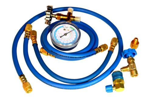 R22a and R134a Enviro-Safe  #500 Manifold Gauge Set for R12
