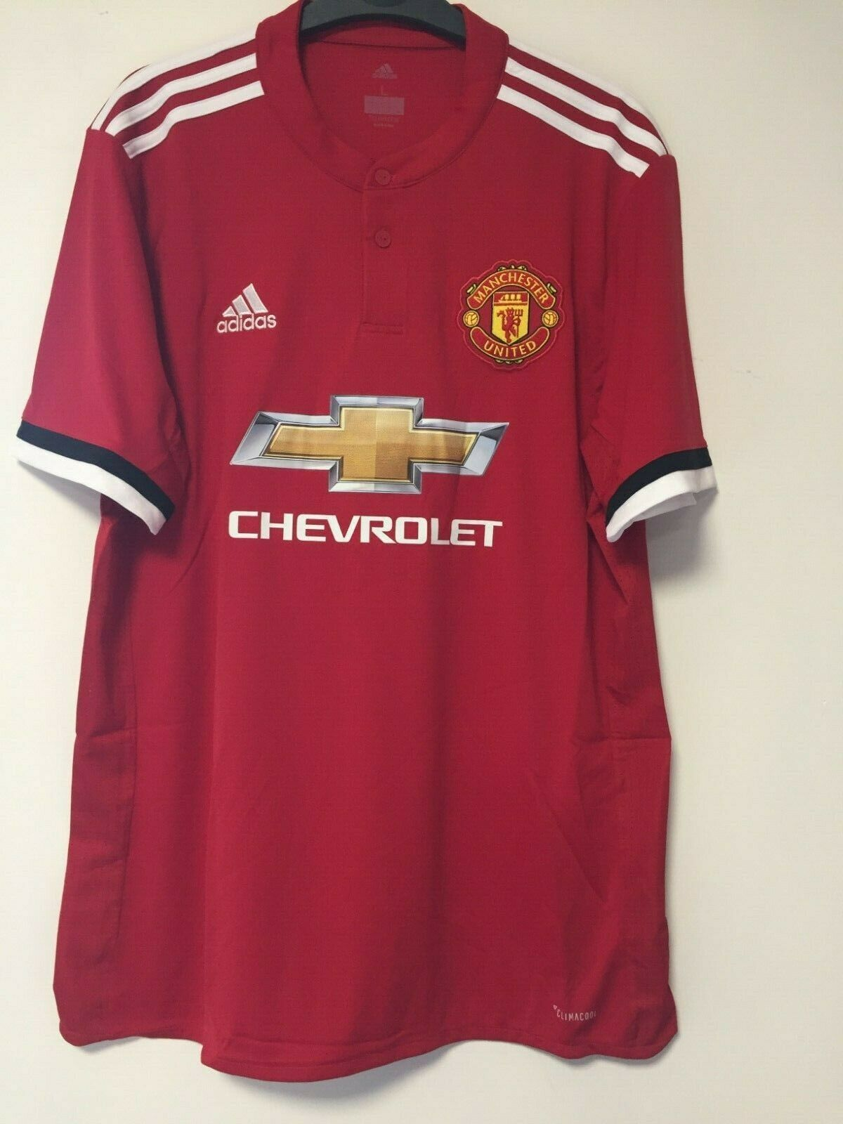 ADIDAS Manchester United Home Jersey 201718 grandi TD094 NN 10