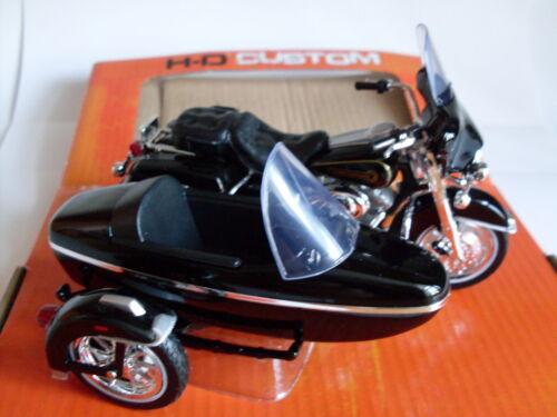 Harley Davidson Modell Maisto Motorrad 1:18 1998 Electra Glide Beiwagen